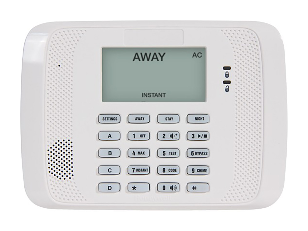 Keypad for the 6152 Honeywell Fixed English alarm system - NCA Alarms Nashville TN