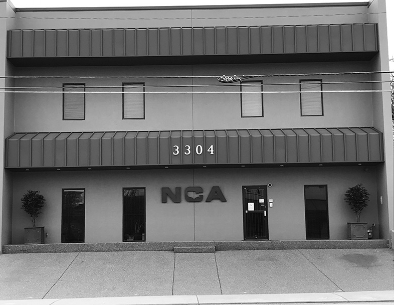 Front of the NCA two story building from 1999 - NCA Alarms Nashville TN