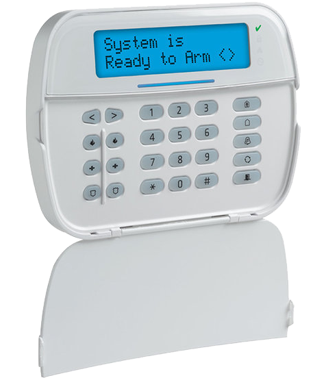 Hardwired and Wireless Keypads - The hardwired security keypad is easy to use and intuitive. The hardwired keypad controls your home or business security system and includes one-touch police, medical, and fire panic buttons as well as a duress code. Wireless Keypads can be installed from the a/c wall socket of your choice!