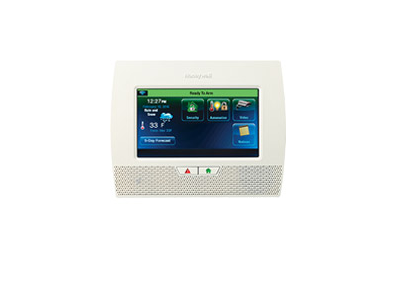 Honeywell Lynx Touch alarm system keypad - NCA Alarms Nashville TN