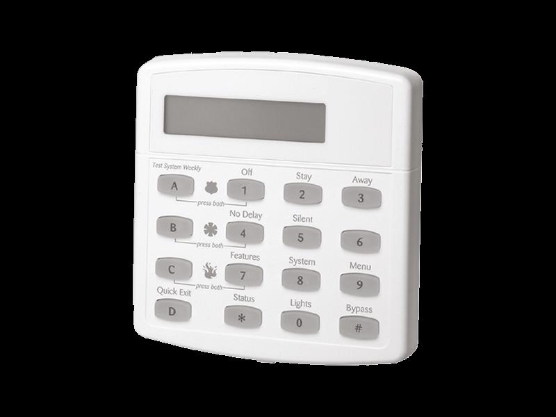 The GE Concord LCD Keypad alarm system - NCA Alarms Nashville TN