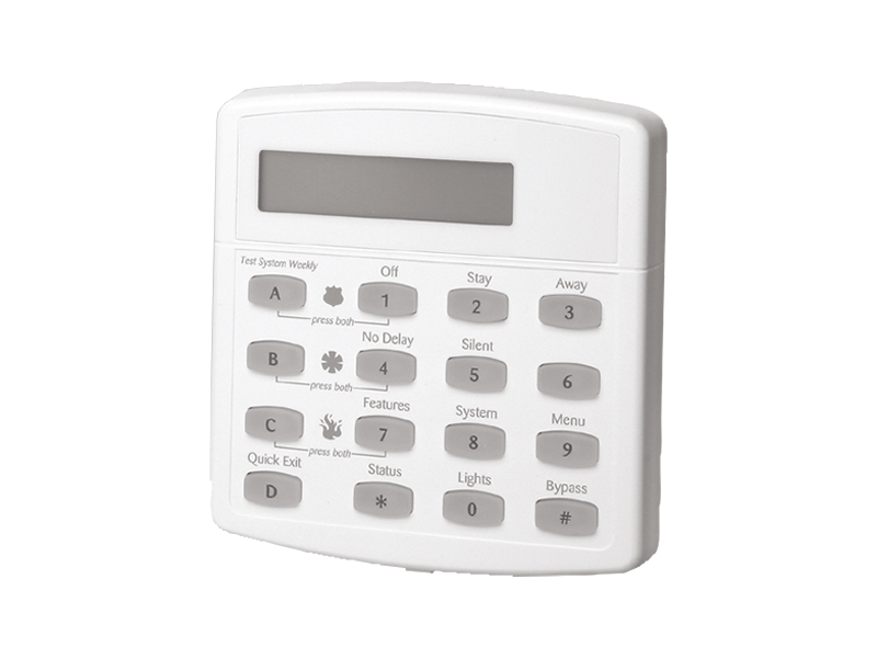GE Concord LCD Keypad - NCA Alarms Nashville TN