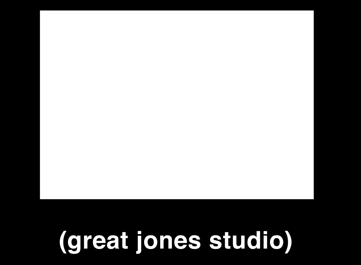 Great Jones Studio
