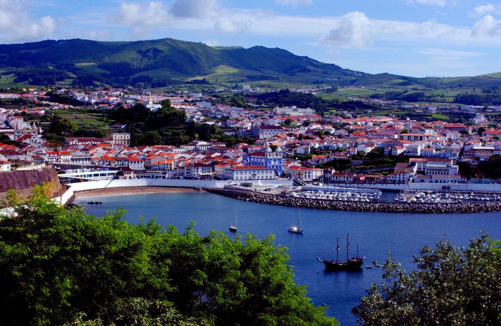 Terceira Island, Azores, Portugal.