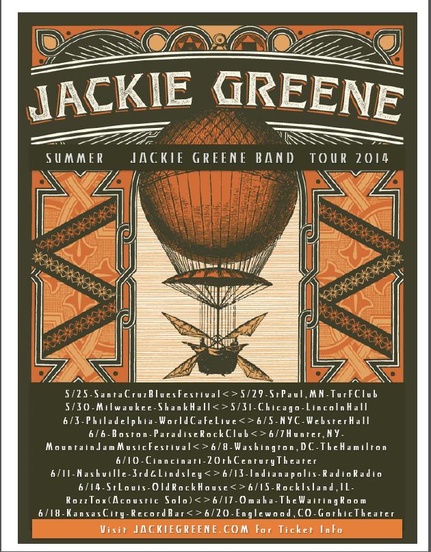 JG Summer Tour Ad mat