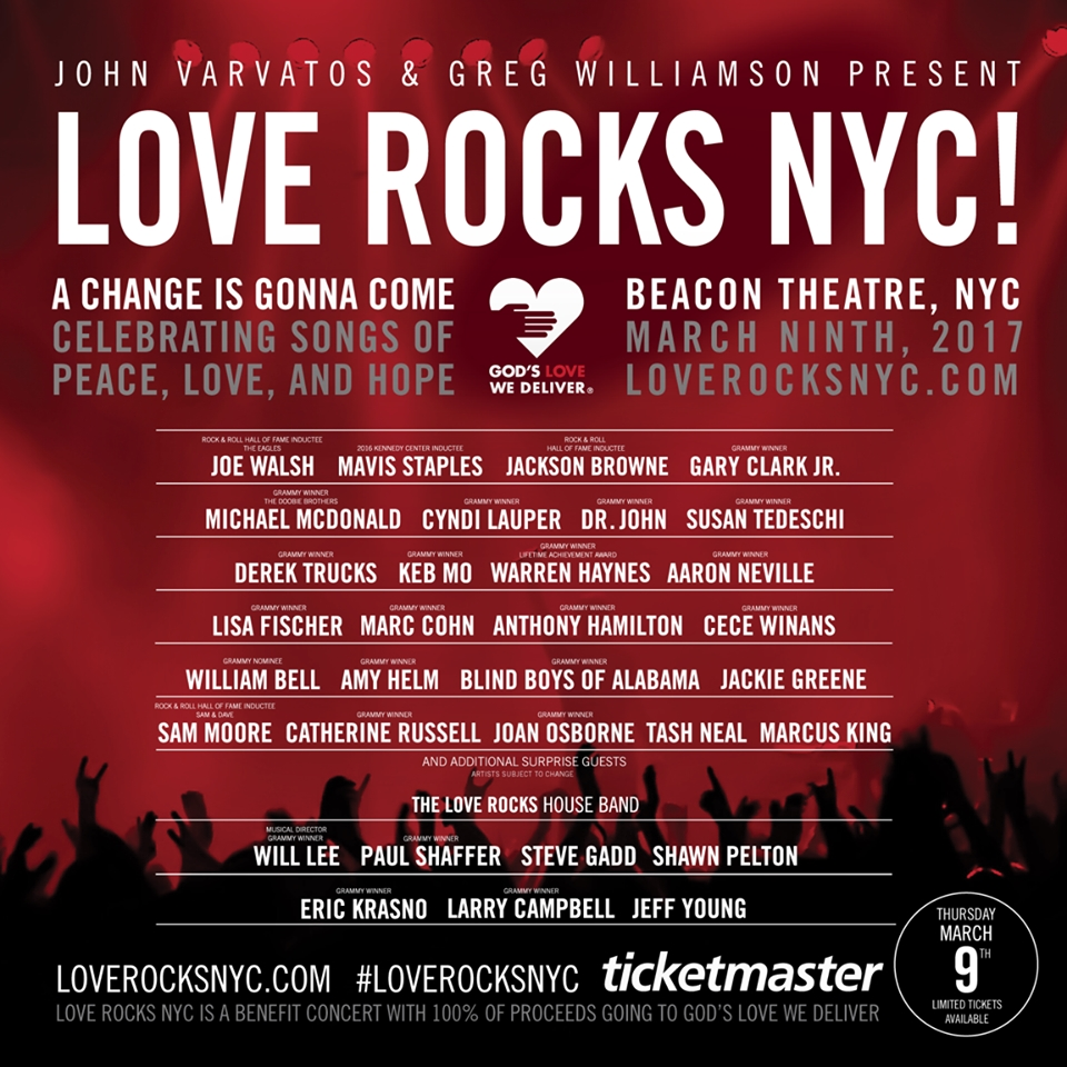 Jackie Greene Amongst The All-Star Line-Up of