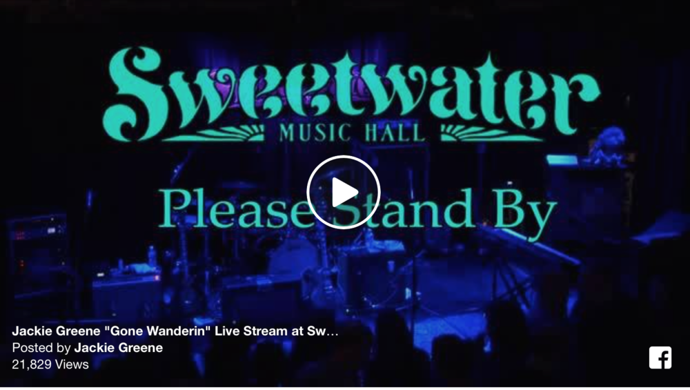 """Jackie Greene Band performs """"Gone Wanderin'"""" in its entirety on Night 1 of 6 Sold Out Shows at Bob Weir's Sweetwater Music Hall"""