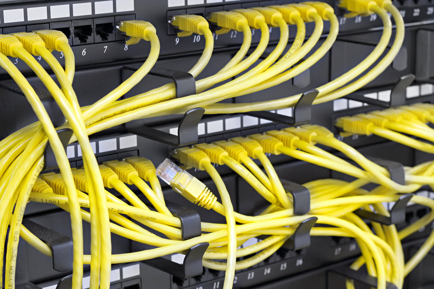 Structured Cabling Dallas Network Companies In Dallastx Wiring Panel Wall Voice Data