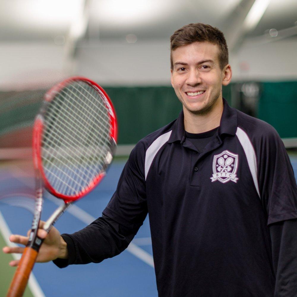 Griffin Wood BIO Tennis Professional