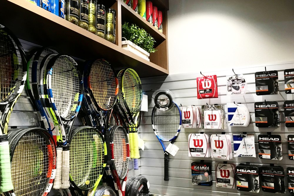 Racquet Rentals and Tennis Accessories