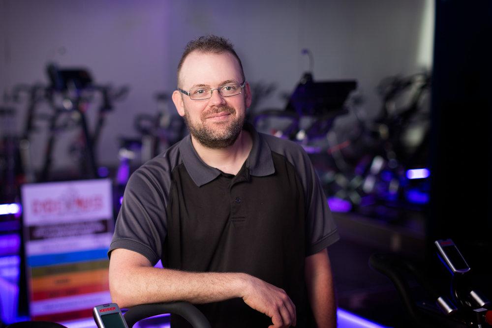 Cycling Instructor Matt Vann
