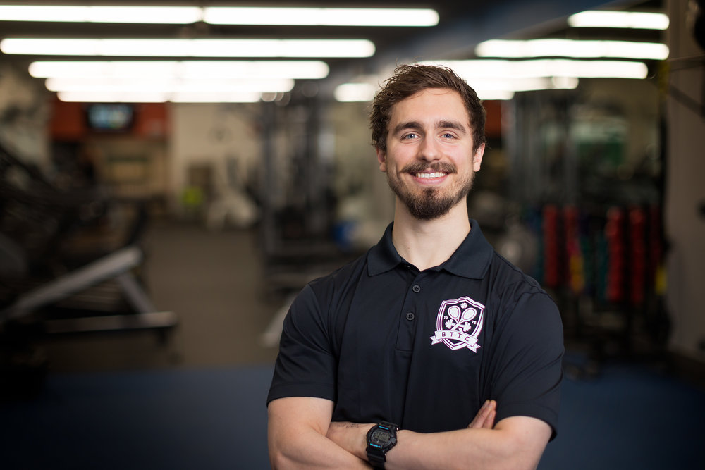 BTTC Fitness Director Tyler Brown