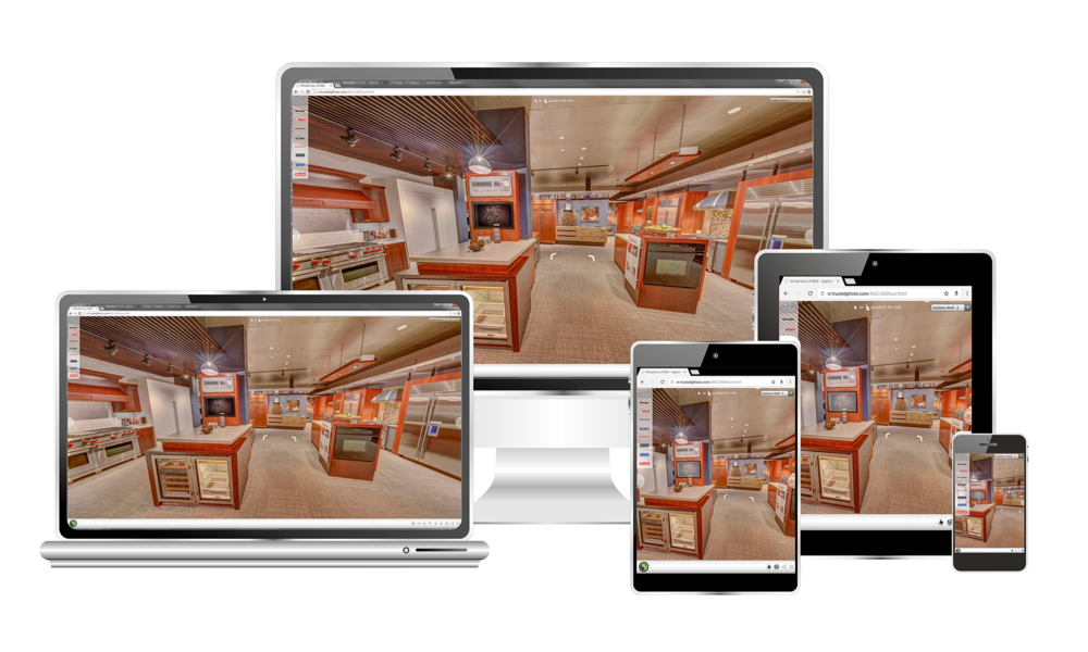 Click to view  BAC Aplpiance Center's Custom 360° Experience