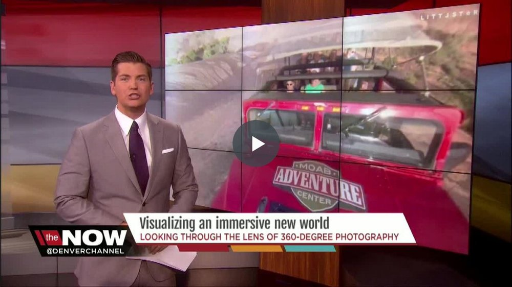 We were recently featured on - Denver's Channel 7 News.