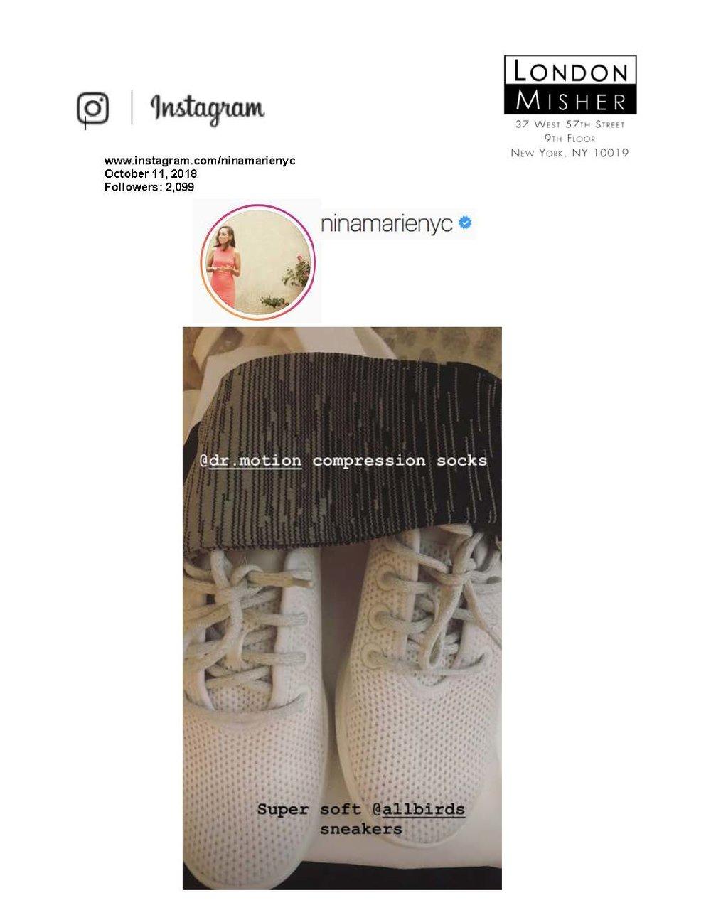 Nina Ruggiero Instagram Story 10.11.18.jpg