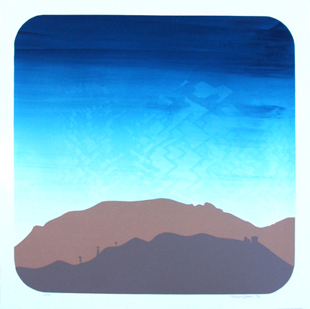 """Mountains 2"" Limited Edition Screen Print"