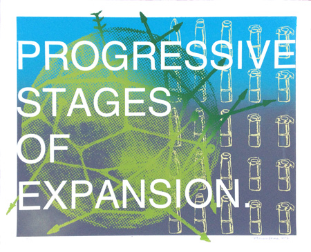 """Progressive Stages"" Limited Edition Screen Print"