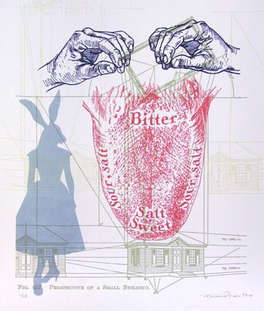 """Bitter"" Limited Edition Screen Print"