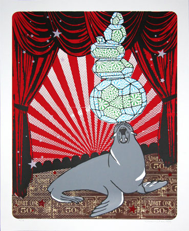"""Balancing Act - Seal"" Limited Edition Screen Print"