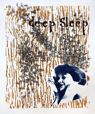 """Deep Sleep"" Limited Edition Screen Print"