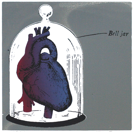 """Bell Jar"" Limited Edition Screen Print"