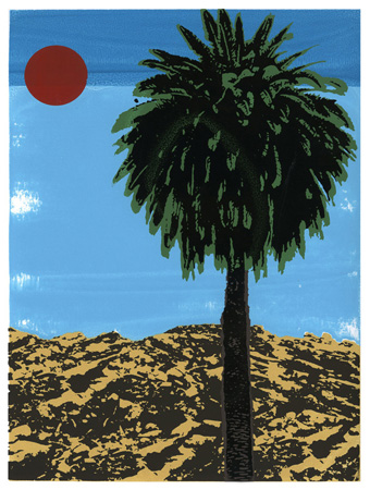 """Los Angeles Palm"" Limited Edition Screen Print"