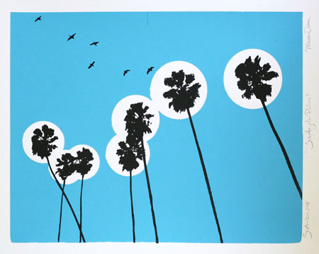 """Los Angeles Palms"" Limited Edition Screen Print"