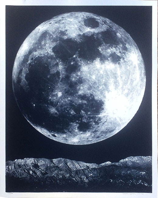 """Full Moon"" Limited Edition Screen Print"