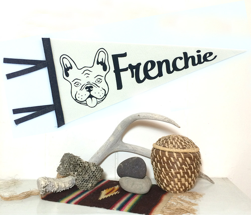 Frenchie Pennant