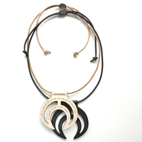 moon waxing phase i necklace tone your products crescent nh silver premium model