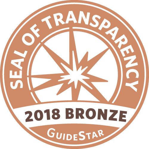 GuideStar 2018 Bronze Seal of Transparency