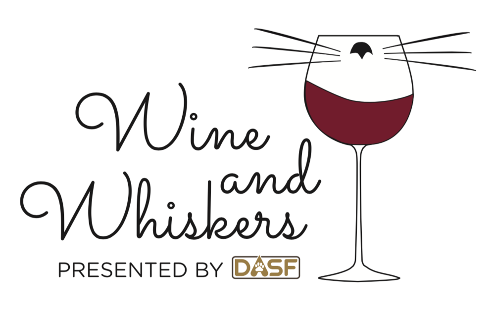 Wine and Whiskers logo