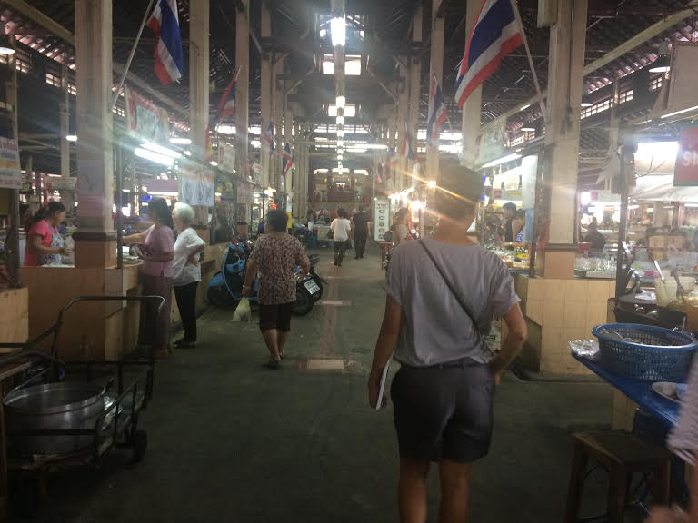 This location marks one of the oldest markets in Thailand