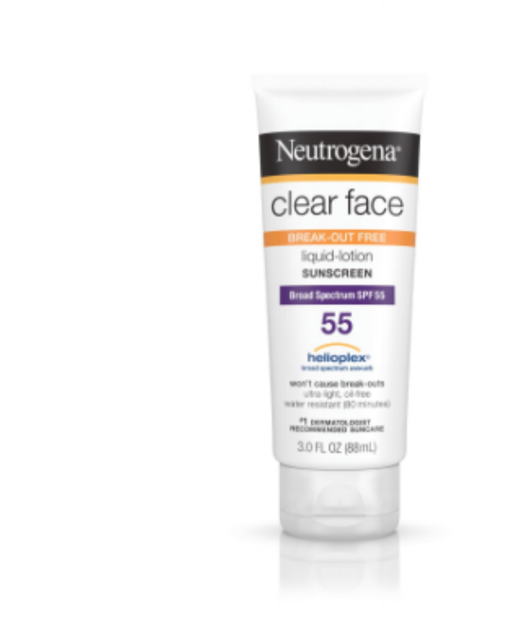 NEUTROGENA - Neutrogena: a brand you can always count on! It's affordable, easy to find, and has tons of options to choose from when it comes to their sunscreen products. This one in particular, the Clear Face Liquid-Lotion sunscreen, is another great pick for sensitive skin, and isn't too heavy on the skin, customers say. It leaves you with a matte finish and is water resistant. No clogged pores here!