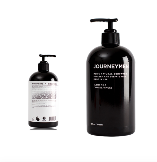 A natural body wash - that is 10x cooler than whatever he's using now (which is probably some sort of Old Spice smell reminiscent of 10th grade and high school dances). This body wash from Southern California based company Journeymen, will leave him with a subtle, modern scent, and not to mention will look perfectly manly resting on the side of his shower.