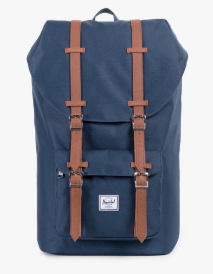 A new backpack - he probably, most definitely needs. This Little America backpack from Herschel is perfect bag to store his laptop and other work essentials.