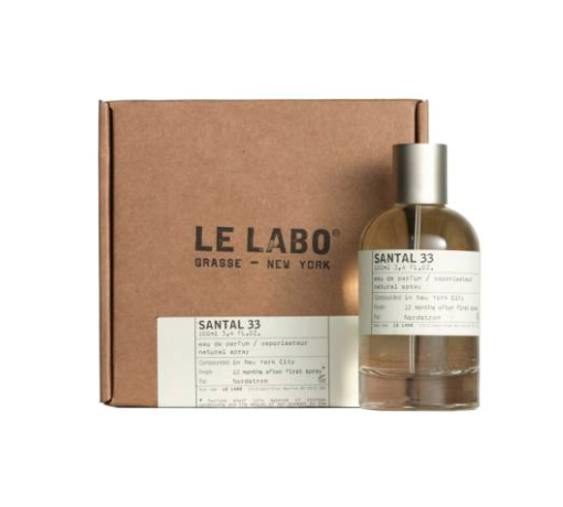 A new scent. - Warning, anything Le Labo is highly addictive, and after one spritz of Santal 33 your attraction to your partner will increase by 100%. This is a scientific fact.