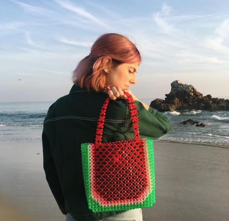 Images via Instagram:  @scarlettroseturner Bag by  Susan Alexandrea    ( @susan_alexandra )