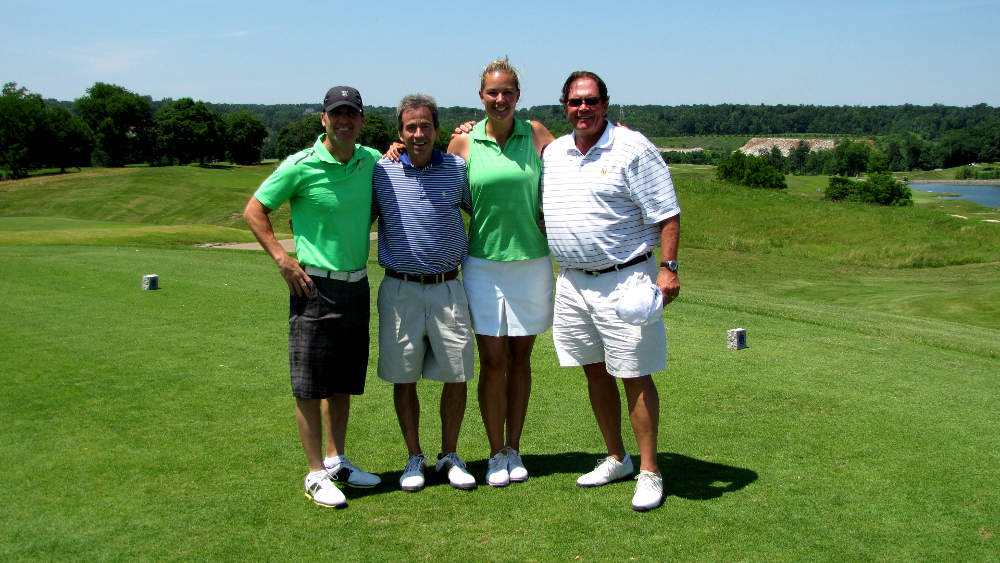 Family recovery golf