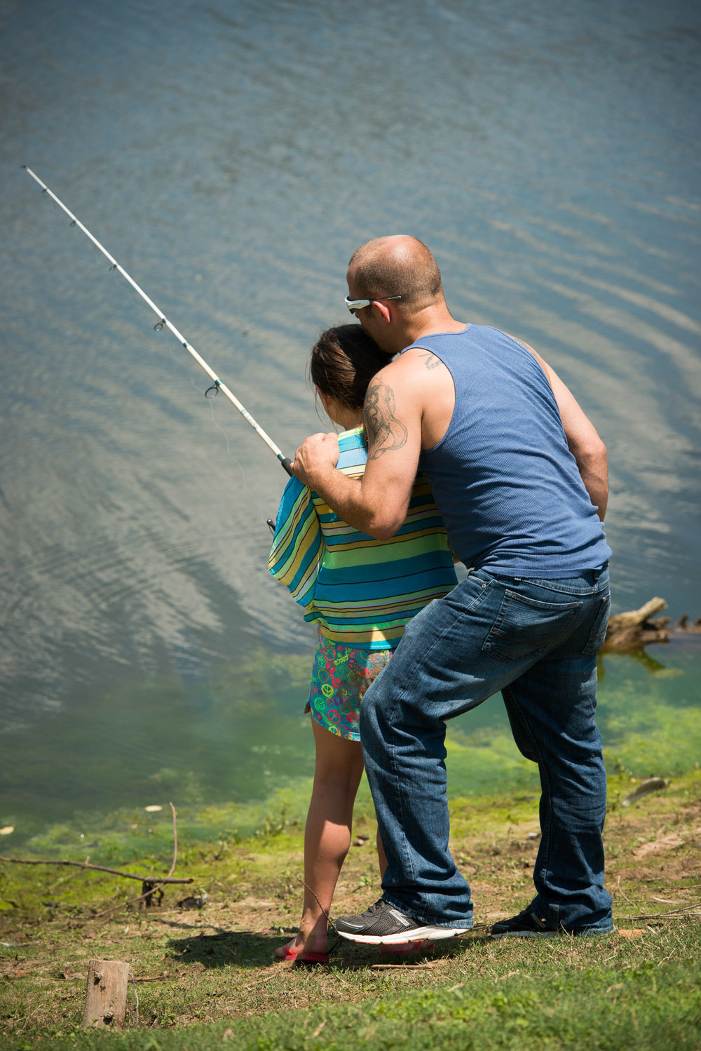 Family recovery fishing