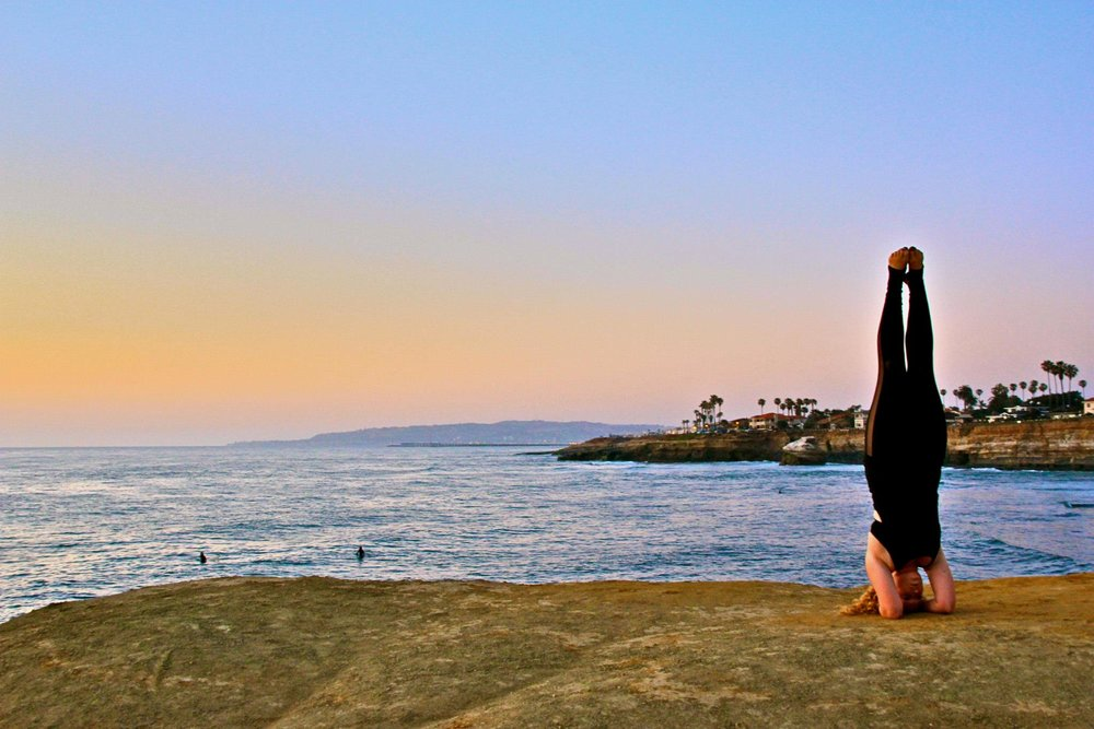 San Diego, CA   Practicing yoga through all the ups and downs has kept me sane and helped me fall back in love with my body and my mind.