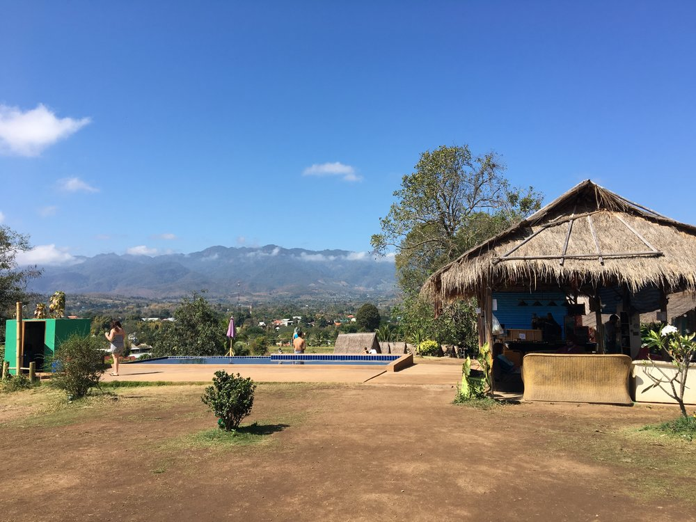 View from the Restaurant at the Circus | Pai, Thailand