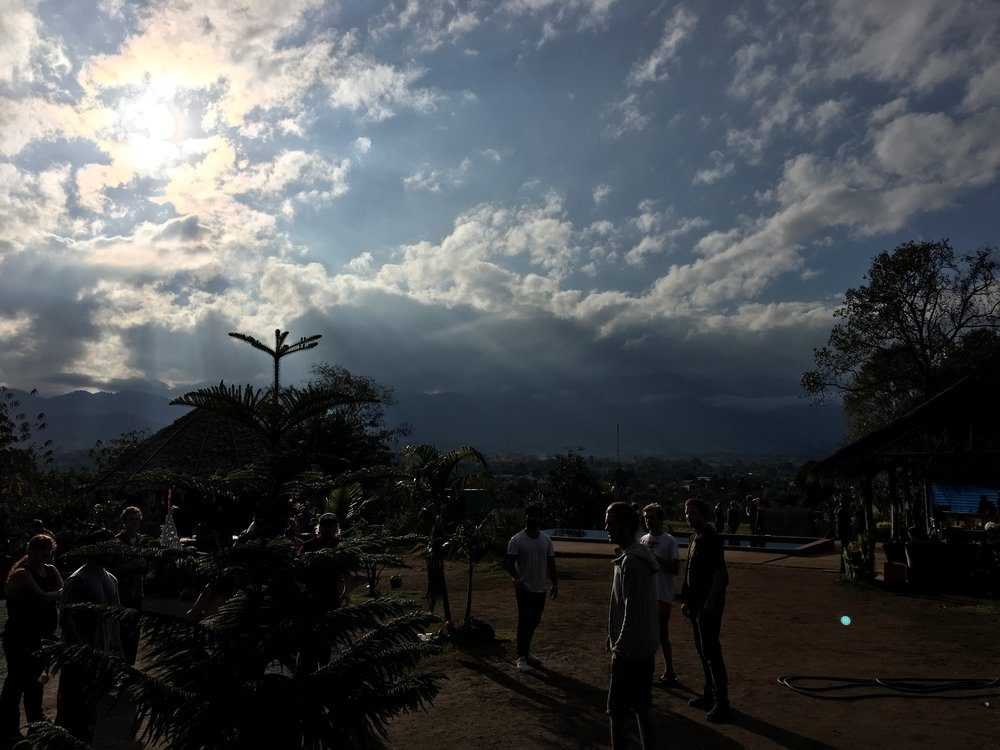 View from Circus Hostel | Pai, Thailand