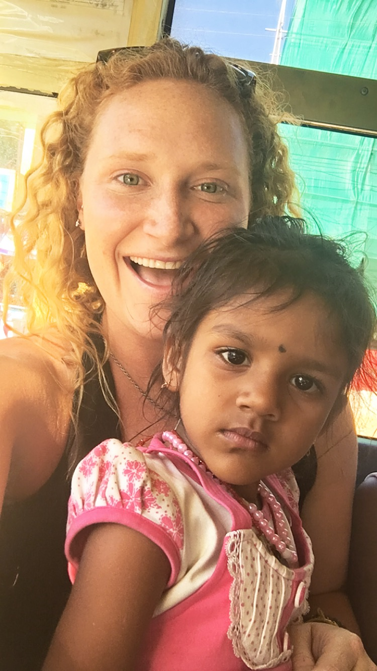 The local bus journey to Ooty was crammed like a can of sardines so I had this little girl sit on my lap for half the journey.