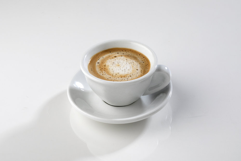 Cortadito: coffee with steam milk