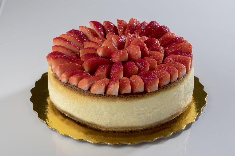 Versailles Bakery Strawberry cheesecake