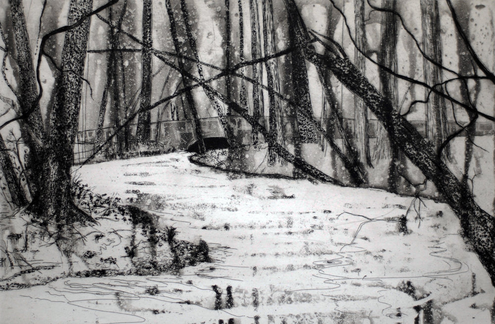 Hindwell Brook - The Rodd