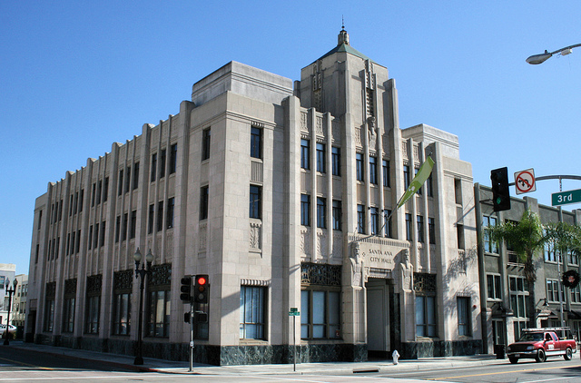The rehabilitation of the old Santa Ana City Hall building (217 N Main Street) in 2003 is the only Federal Tax Credit project undertaken in Orange County between 2002 and 2016.