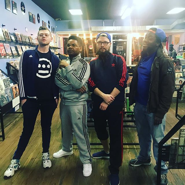 Last night's Def Jam Tribute Show @gravityrecords was great. Thanks to all the comics that killed it #tracksuitboys
