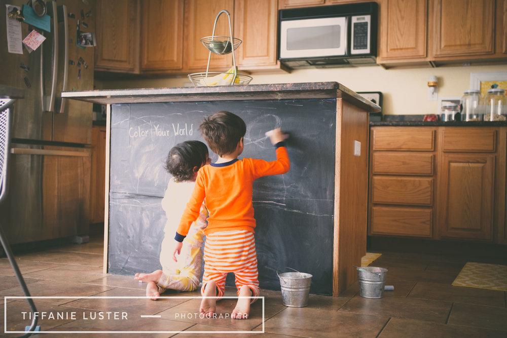 kids chalkboard